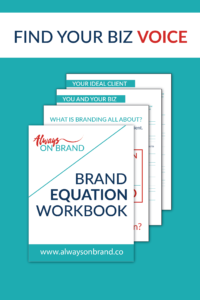 Always on Brand Brand Equation Workbook